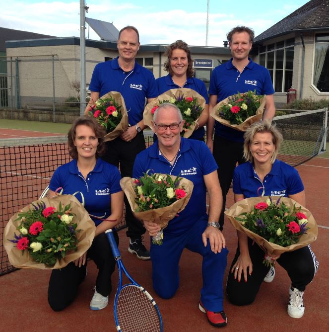 Mix-team kampioen in de najaarscompetitie